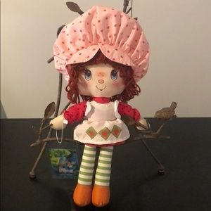 Strawberry Shortcake doll collection from 80's